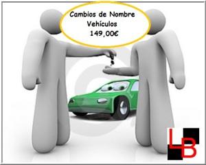 CAMBIOS DE NOMBRE VEHÍCULOS PUBLICIDAD